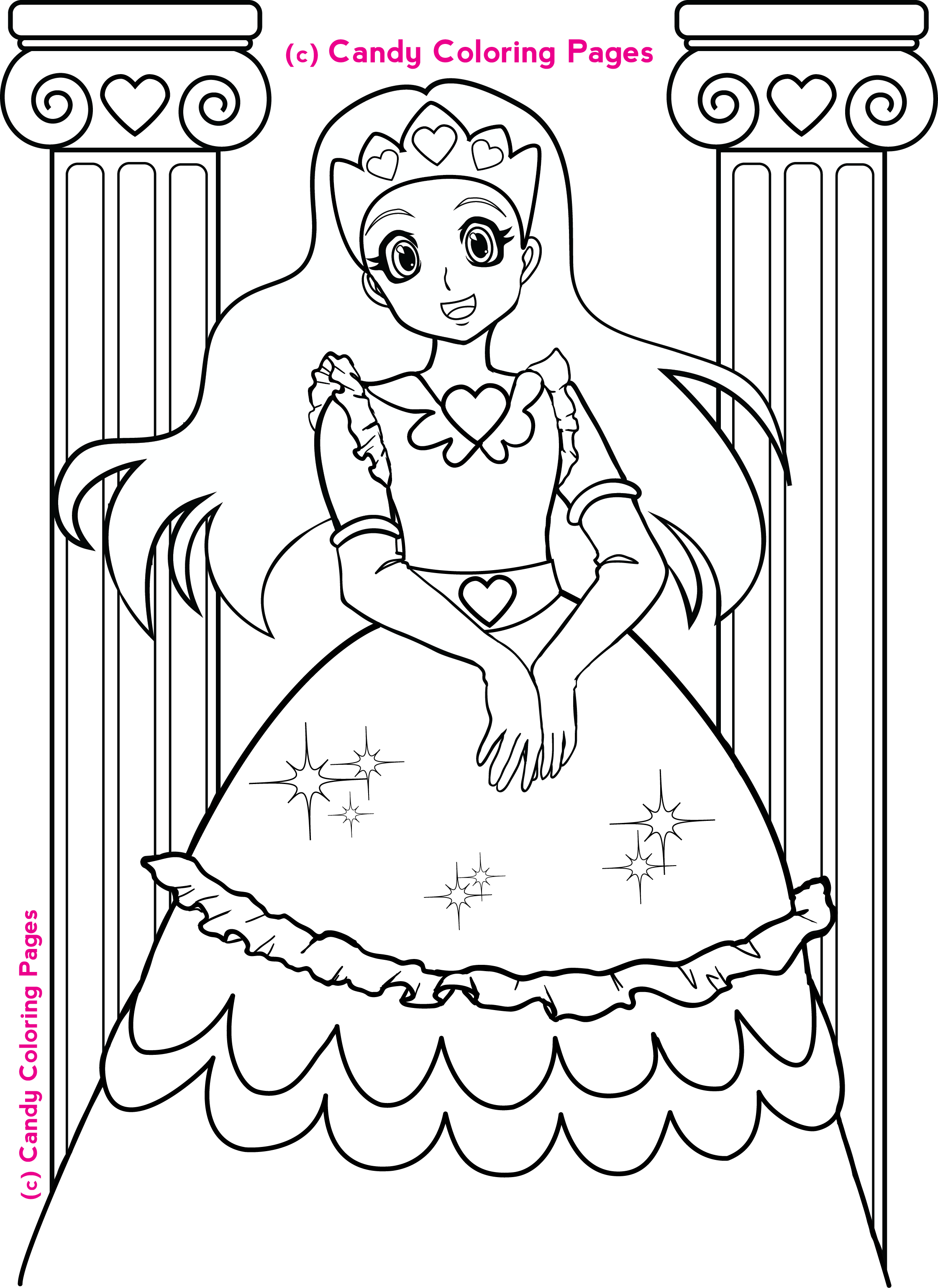 301 Moved Permanently Princess Coloring Pages Pdf Free Coloring Sheets